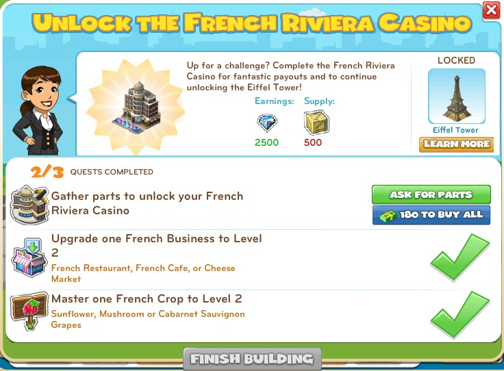 Unlock French Riviera Casino