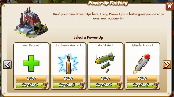 Empires Allies Power-Up Factory