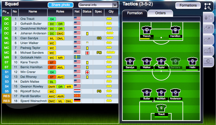 Top Eleven in action