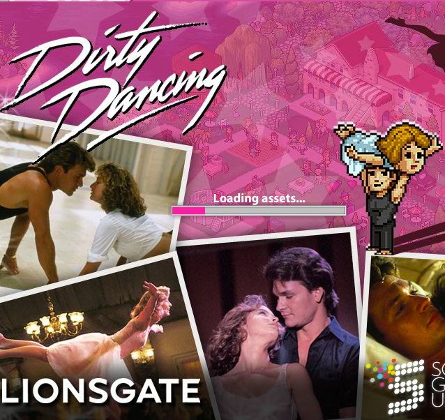 Dirty Dancing Facebook game