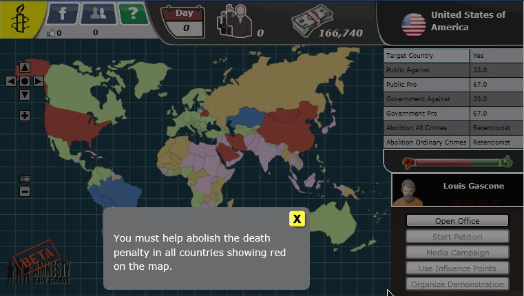 amnesty the game
