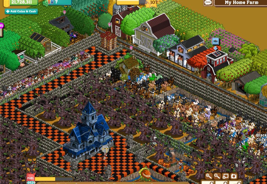 farmville halloween james freeman