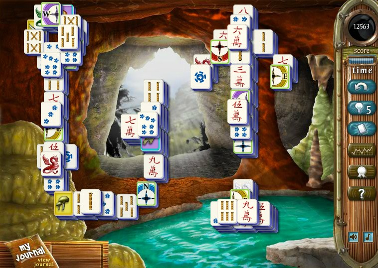 lost island mahjongg game of the day