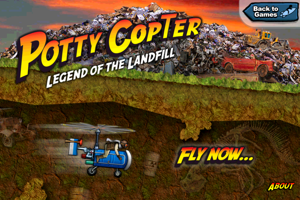 Potty Copter