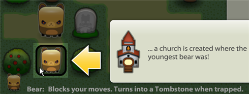 Triple Town bears church
