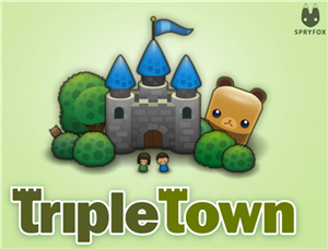 Triple Town Facebook game logo