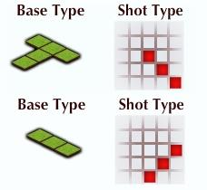 Woodland Heroes Base Type and Shot Type