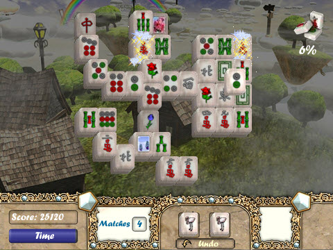 aerial mahjong game of the day