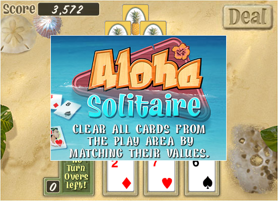 aloha solitaire game of the day
