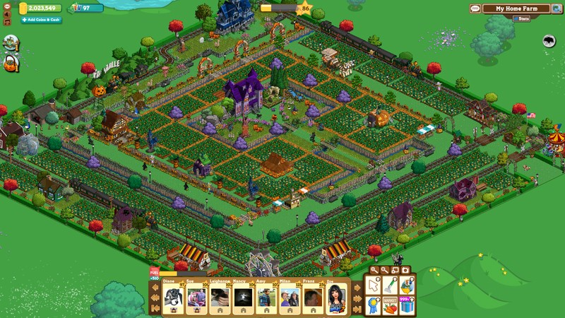 farmville clomba halloween farm