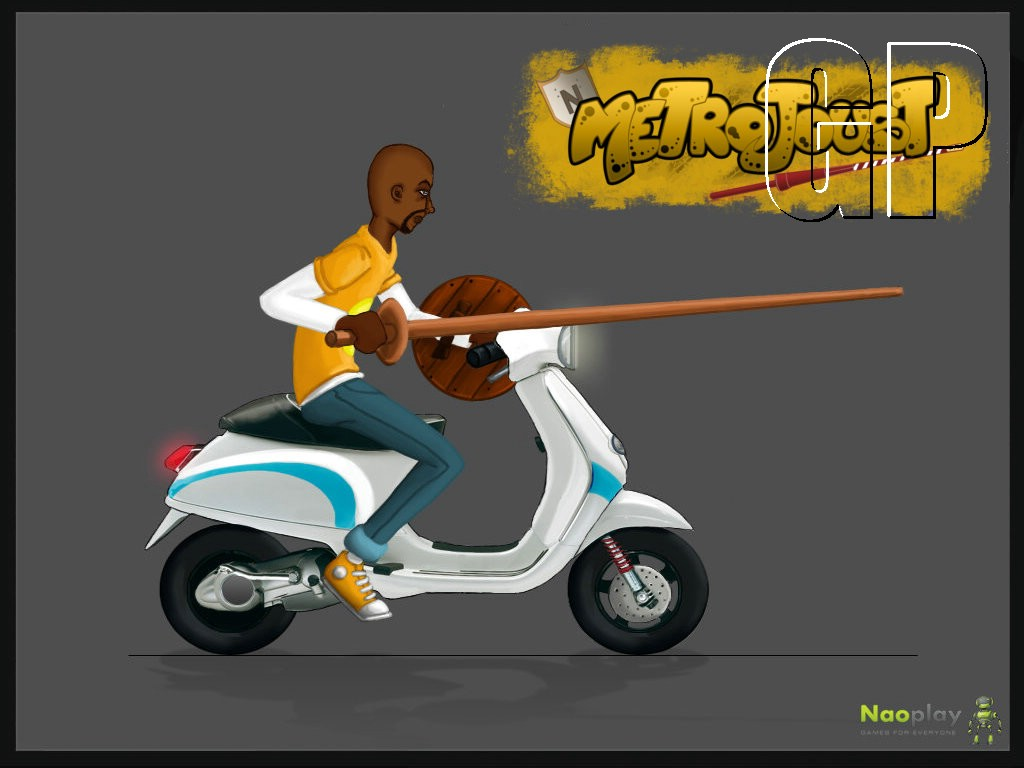 MetroJoust scooter