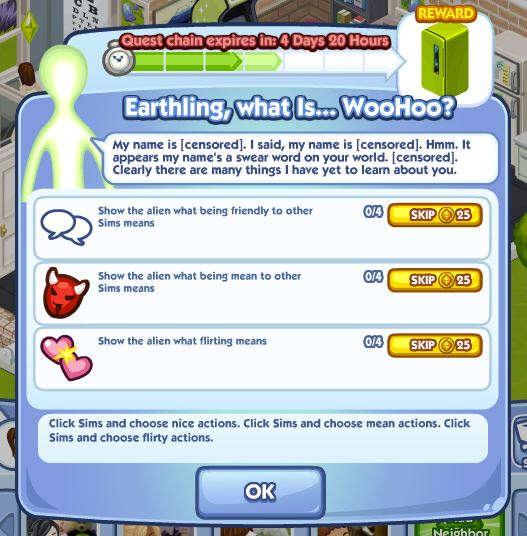 sims social earthling quest part 4