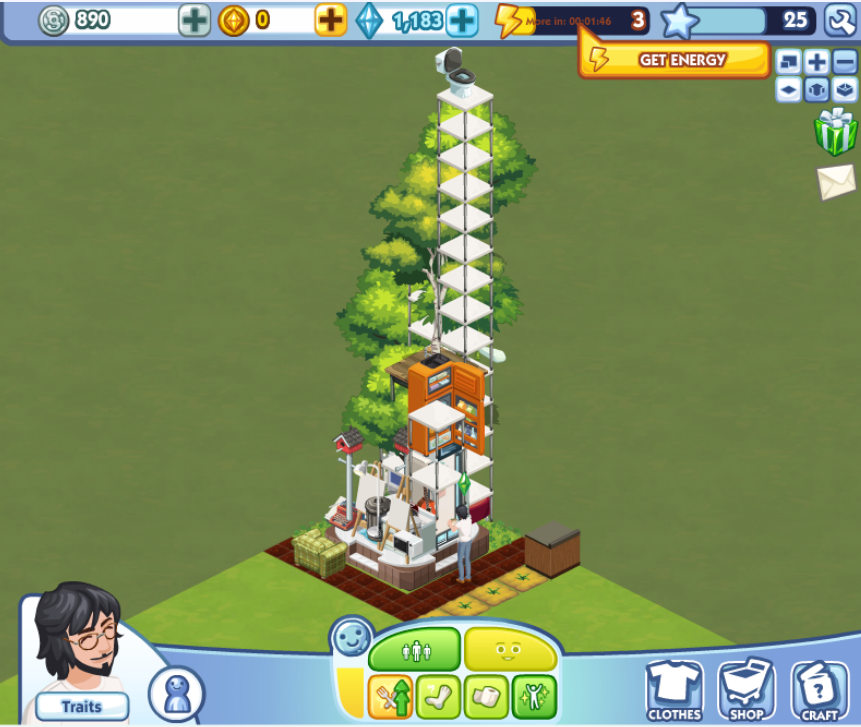 Sims City Living Can T Travel