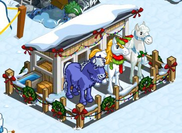 Farmville winter horse paddock everything you need to for Farmville horse
