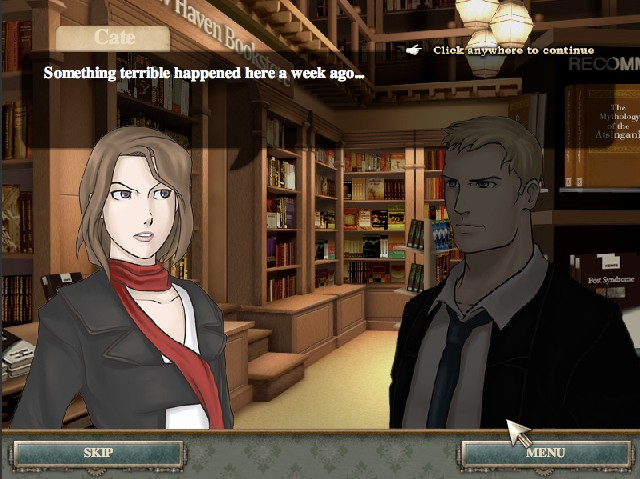 cate west vanishing files game of the day