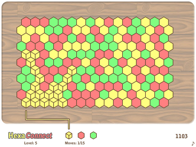 hexa connect game of the day