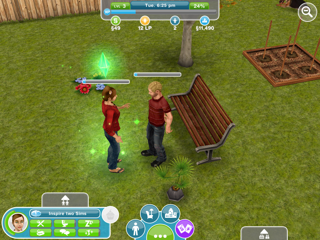 Sims FreePlay on iOS: 'Play with life' in the palm of your