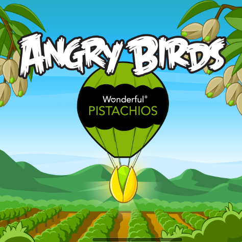 Angry Birds Hunt for the Golden Pistachio