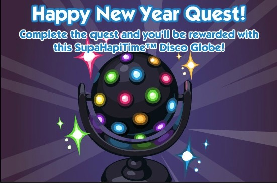 The Sims Social Happy New Year