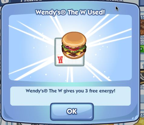 wendys the sims social w