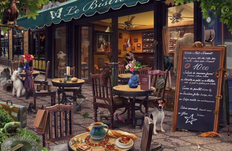 hidden chronicles paris bistro our guide to finding every item