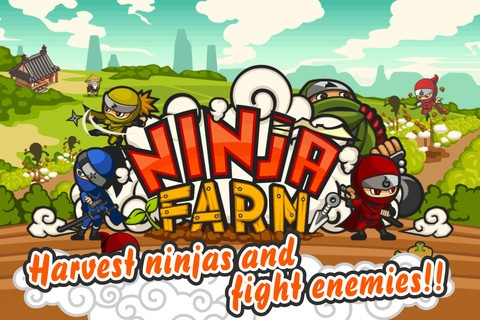 Ninja Farm on iPhone
