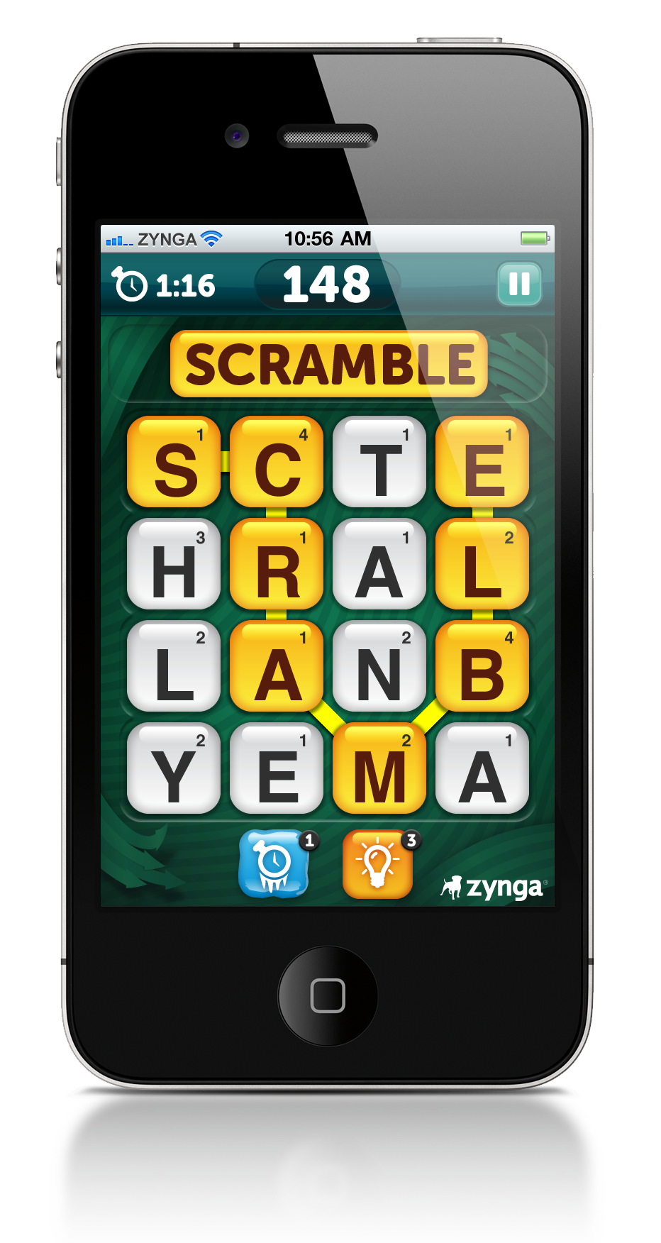 Scramble With Friends iPhone