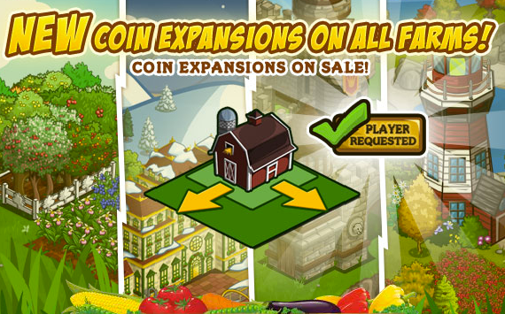 FarmVille Coin Expansions