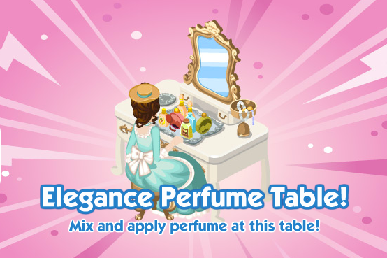 The Sims Social Elegance Perfume Table