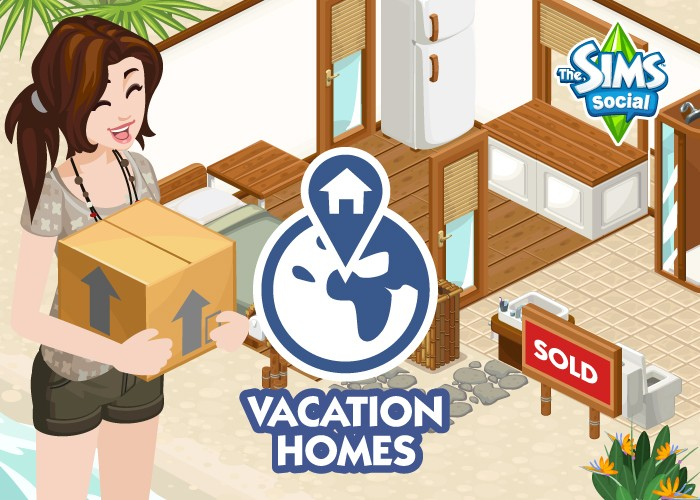 The Sims Social Vacation Homes