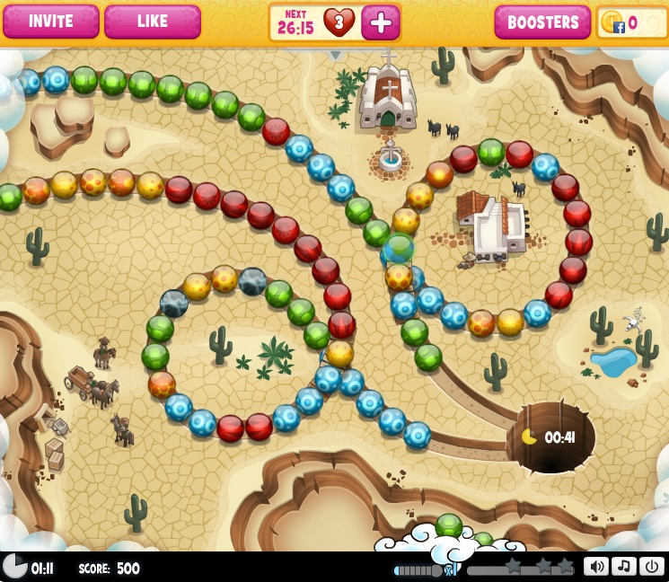 Hoop De Loop Saga gameplay