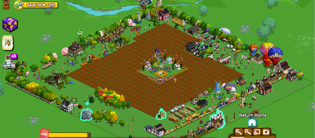 FarmVille widescreen