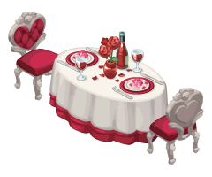 The Sims Social Amour Edition Dinner for Two