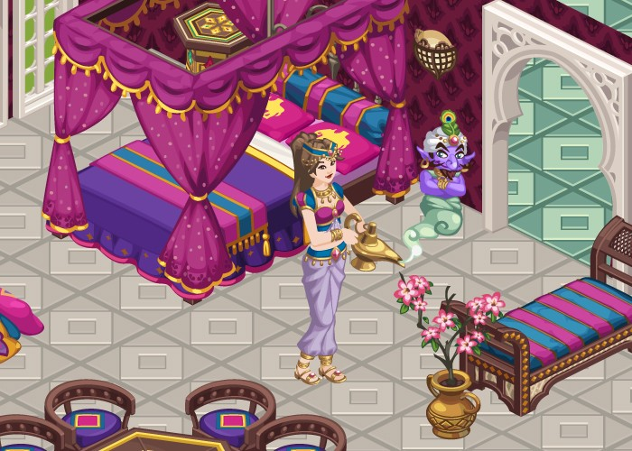 The Sims Social Celebrates Arabian Nights With New Treasure Vault And Decor