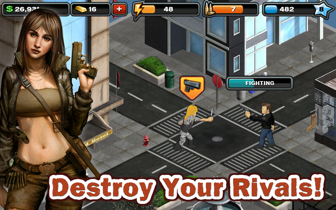 Crime City Android in action