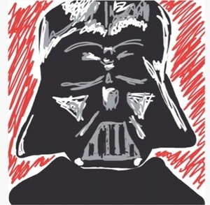 Draw Something Darth Vader