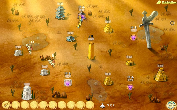 civilizations wars game of the day