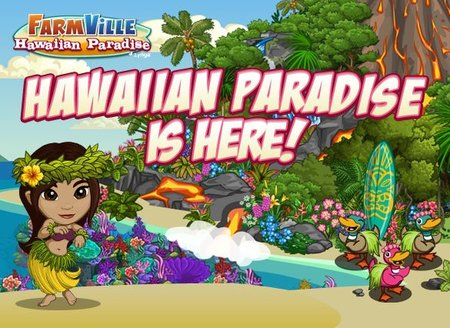 FarmVille Hawaiian Paradise Launch