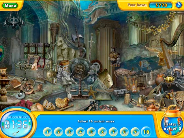 fishdom h20 hidden odyssey game of the day