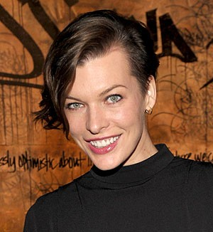 Milla Jovovich The Sims haircut