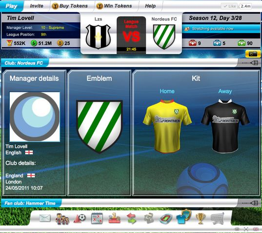 Top Eleven new UI