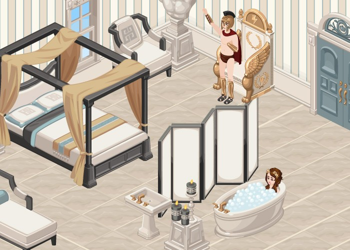 The Sims Social Greek Gods Week 1