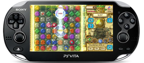 Treasures of Montezuma Blitz PS Vita