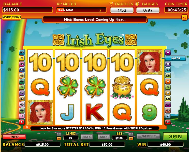 free slot machine games on facebook