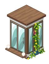 The Sims Social Changing Hut