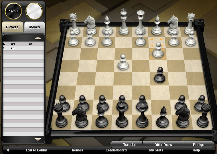 chess game of the day