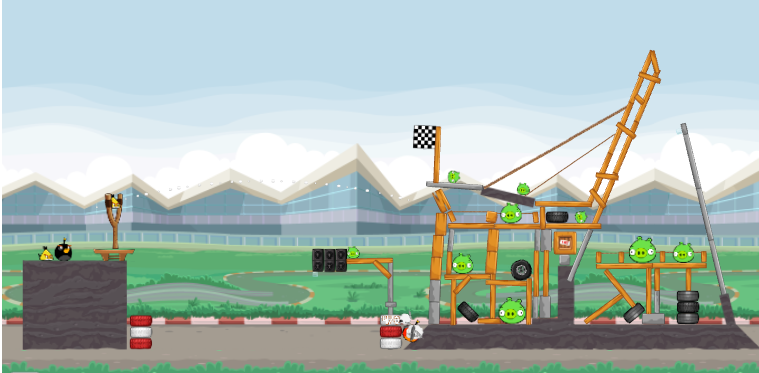 Angry Birds Heikki screens