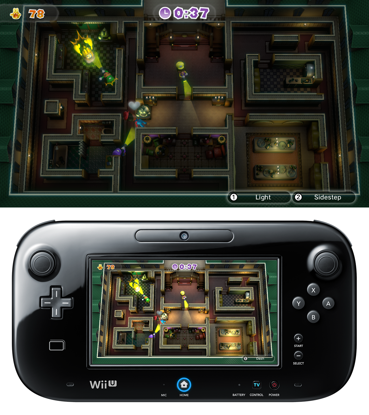 Luigi's Ghost Mansion preview