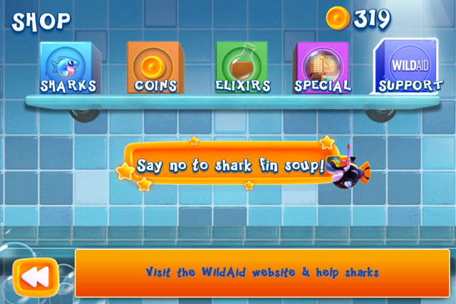 shark dash shop wild aid