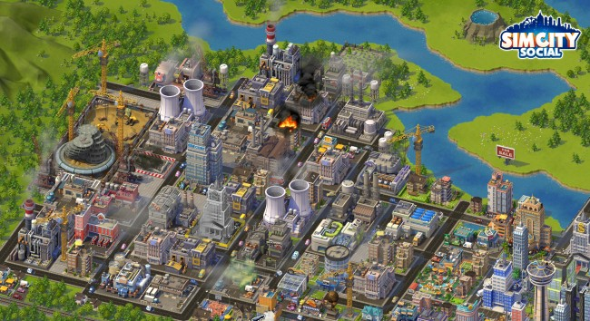 SimCity Social launch
